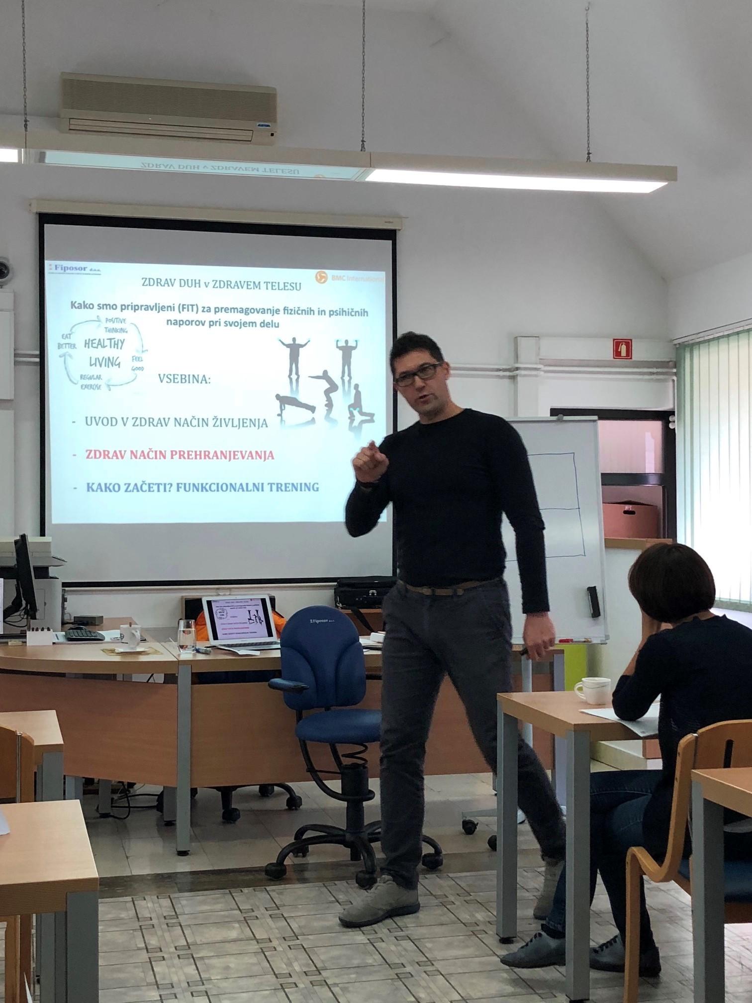 Team building za motivacijo zaposlenih z Gorazdom Vertovškom