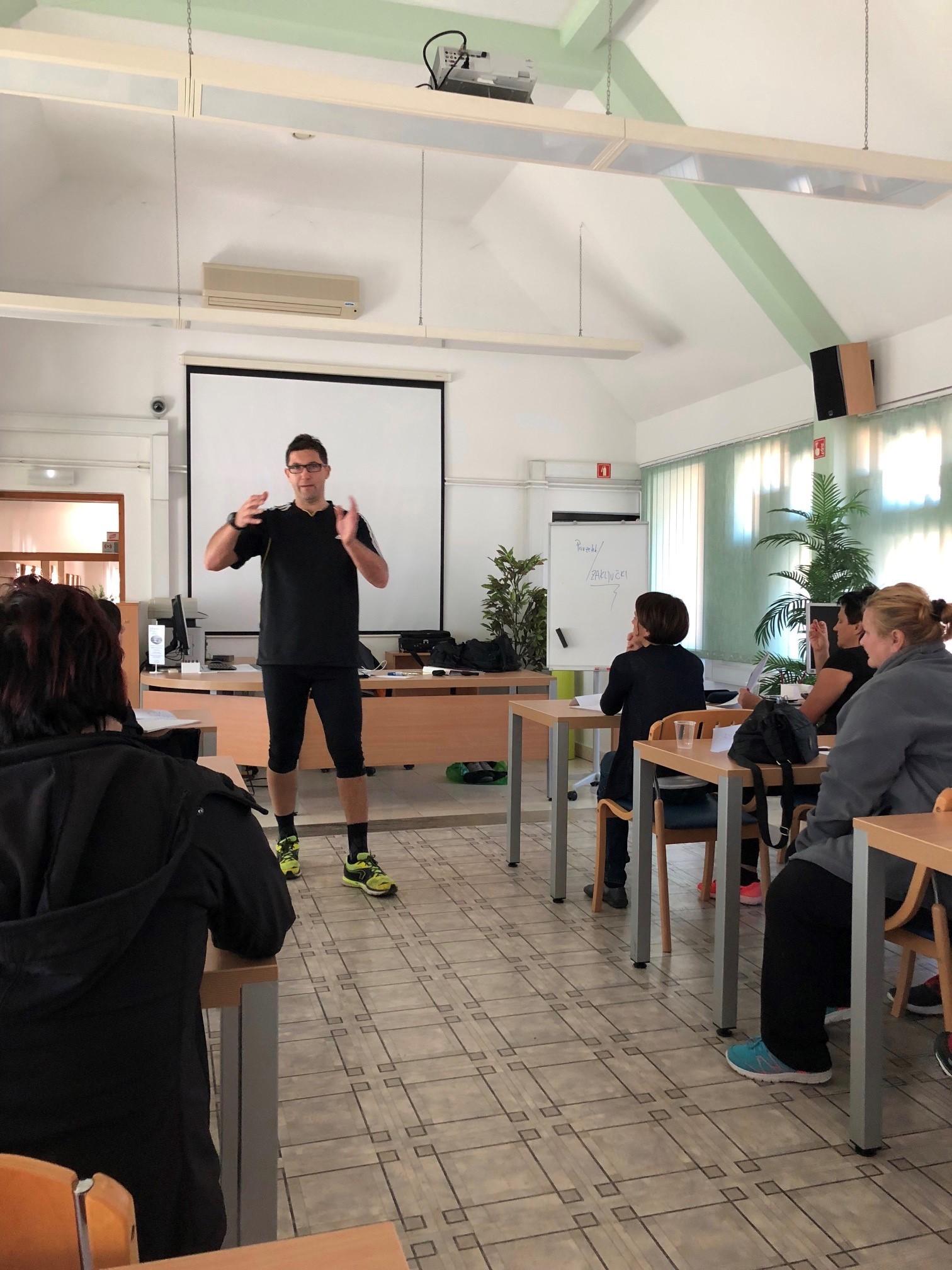 Predavanja po team buildingu z Gorazdom Vertovškom